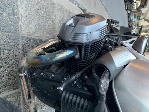 bmw r nine t 2018 con tanque de aluminio