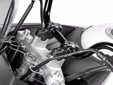 bmw r1150gs  levantador y atrasador manubrio sw motech moto