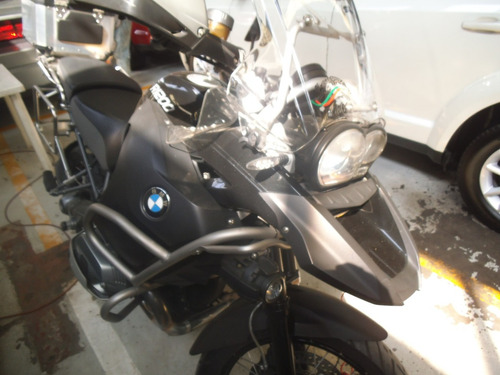bmw r1200 adventure triple black