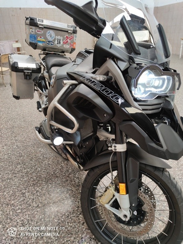 bmw r1200 gs adventure triple black