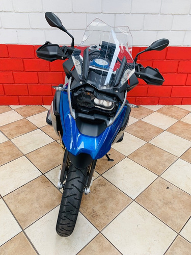 bmw r1200 gs rallye - azul - 2018 - financiamos - km 5.366