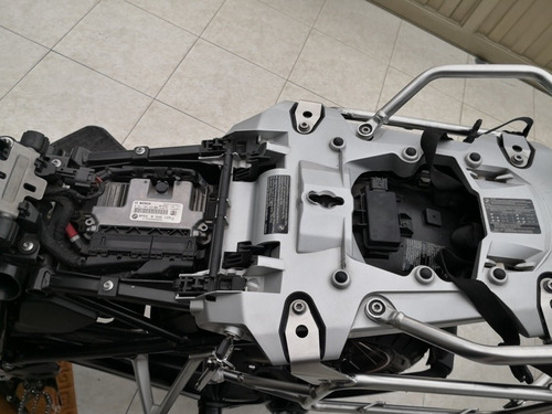 bmw r1200 gsa-low kit (k51), 2016  33.100 kms, blanco alpin