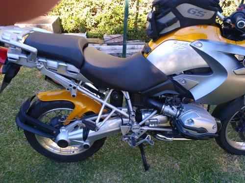 bmw r1200gs amarilla y gris