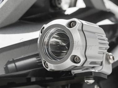 bmw r1200gs lc montaje faros auxiliares sw motech moto