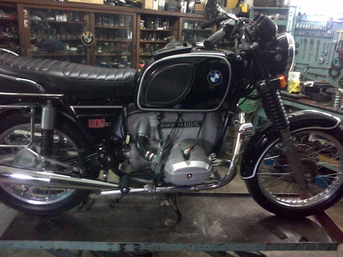 bmw r60 /6 1974 impecable original con balijas