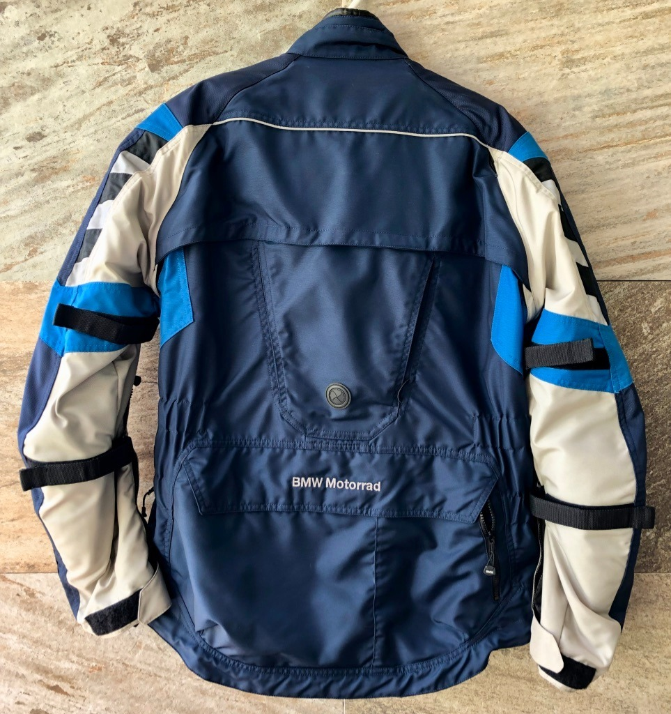 Bmw Rallye 4 Azul Gris Touring Off Road Textile Suit 54eu 26 000 00