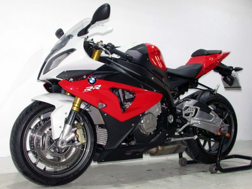 bmw s 1000 rr  2013 vermelha