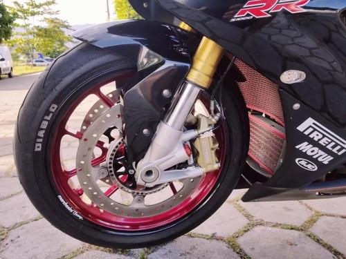 bmw s1000rr 2013 + rodas marchezini impecável