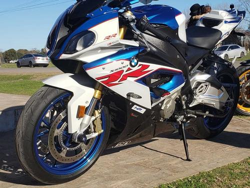 bmw s1000rr tricolor nueva .