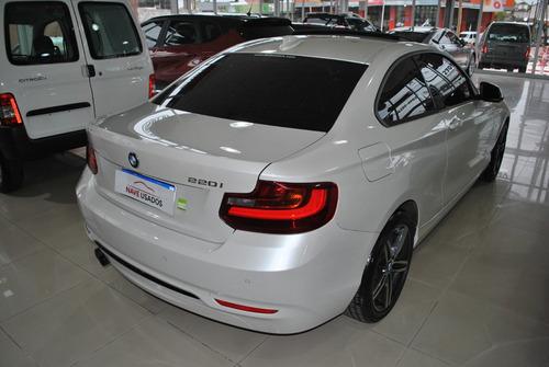 bmw serie 2 2.0 220i sport line blanco ab356