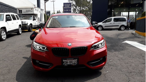 bmw serie 2 220ia at color rojo 2016