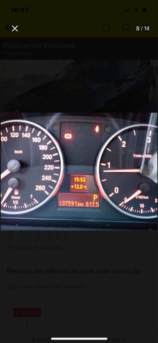 bmw serie 3 2.0 320d sedan active stept 2008