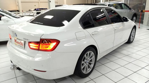 bmw serie 3 2.0 turbo 2014 branca gasolina