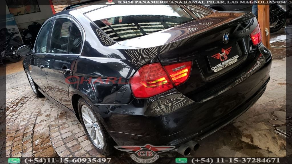 Bmw Serie 3 2 5 325i At 2009 Excecutive Negro Charliebrokers