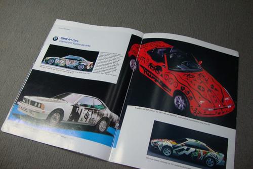 bmw serie 3 linha 99 folder publicitario  bmw encarte