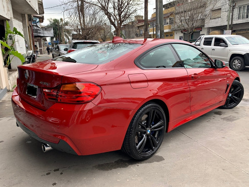 bmw serie 4 3.0 435i m package 306cv roja! unica!