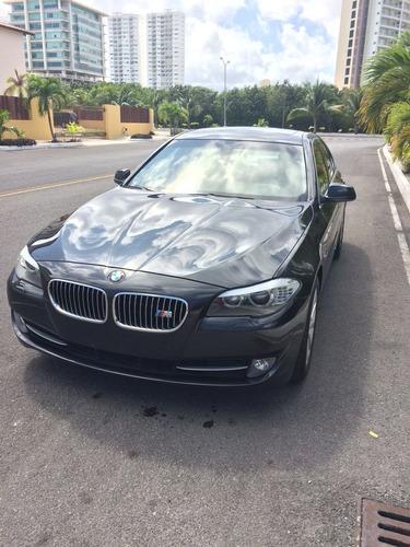 bmw serie 5 3.0 535ia top line ta 2011 gris