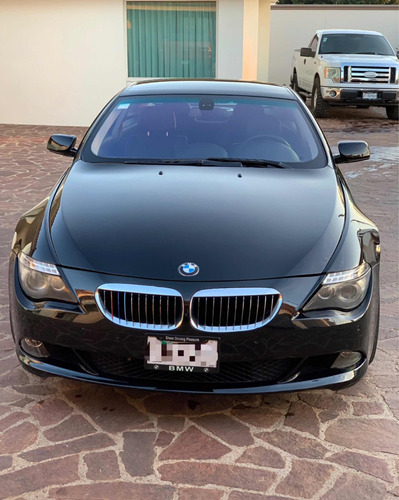 bmw serie 6 4.8 650cia coupe at 2009