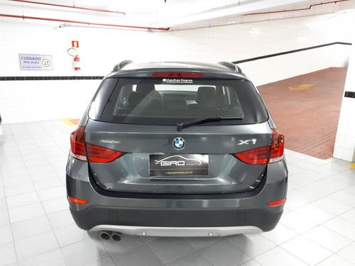 bmw x-1 x-drive 20i activeflex 2015 cinza blindada 2015