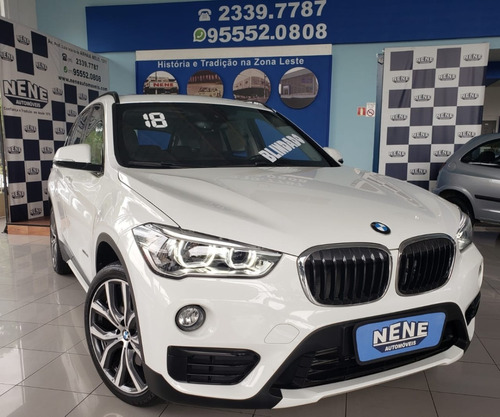 bmw x1 2.0 16v branca blindada turbo active