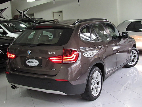 bmw x1 2.0 sdrive 18i top 2011 marrom completo