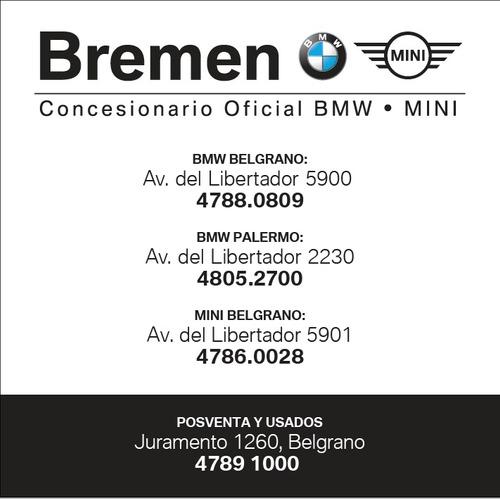 bmw x1 2.0 sdrive sportline 192cv caja steptronic 0km