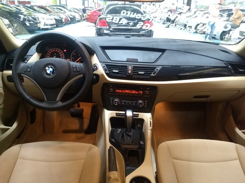 bmw x1 2.0 sdrive18i  completo+airbag+abs+banco caramelo