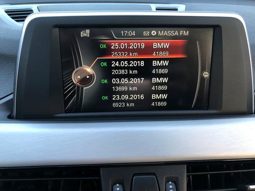 bmw x1 2.0 turbo activeflex xdrive 25i sport 2016 top