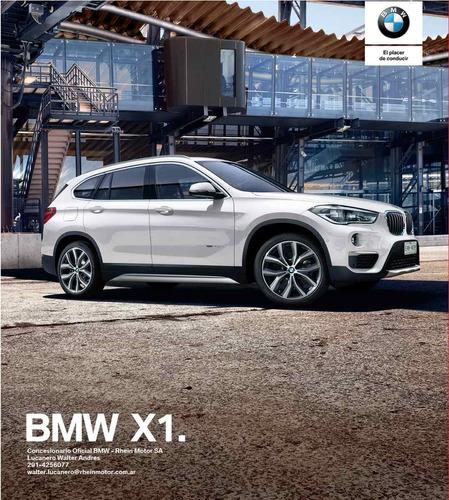 bmw x1 xdrive 25i entrega - en inmediata