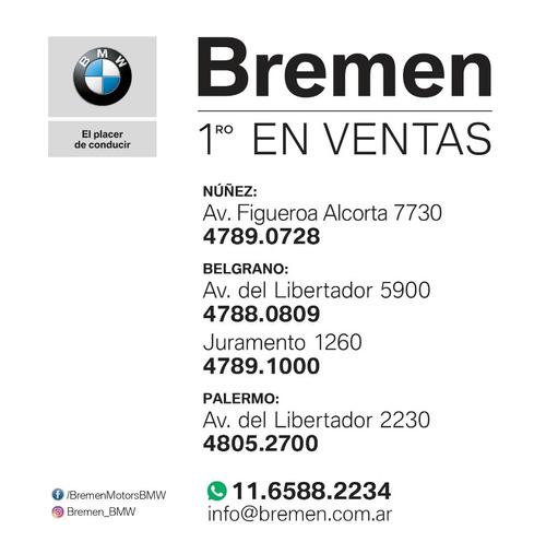 bmw x3 2.0 xdrive 30i 252cv 2019 / bremen motors palermo