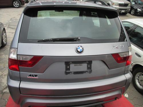 bmw x3 2008  6 cil. 4 puertas  equipado piel