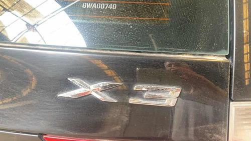 bmw x3 2.5i selective chocado no quemado tapiceria trasero