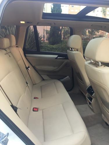 bmw x3 28i xdrive 2013 4 x 4  - branca com interior caramelo