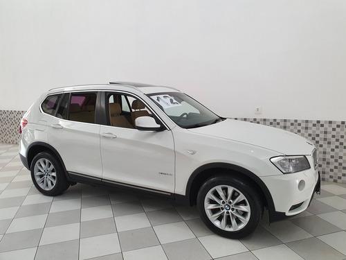 bmw x3 3.0 xdrive 28i 4x4 2012 branco interior caramelo