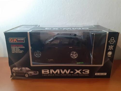 bmw x3 a radio control (dañada)