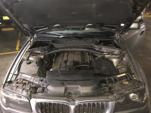 bmw x3 gris motor 3.0 2004 5 puertas
