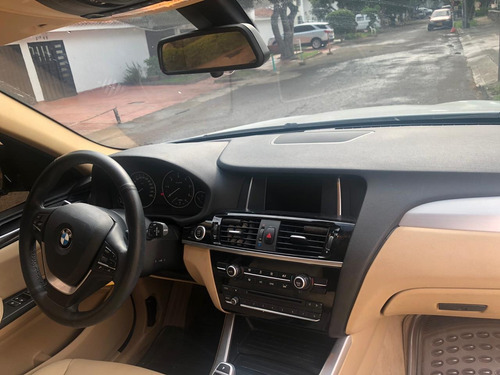 bmw x3 xdrive 3.0 bi-turbo  cojineria beige