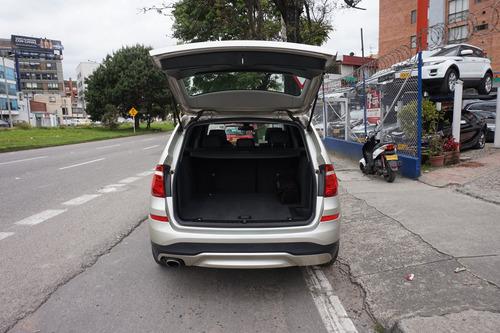 bmw x3 xdrive20i modelo 2015