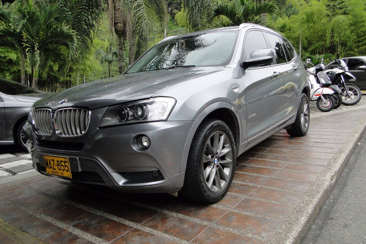 bmw x3 xdrive35i tp cc 3000 4x4 en tucarro. Black Bedroom Furniture Sets. Home Design Ideas