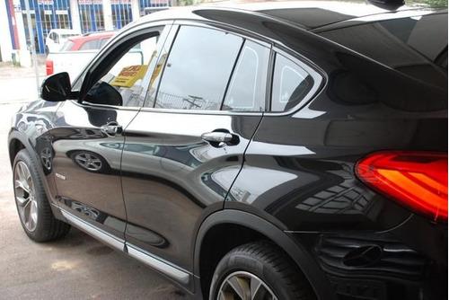 bmw x4 2.0 x-line 16v gasolina turbo aut 2017 preto