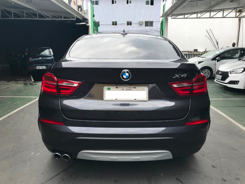 bmw x4 28i cinza sophisto com interior moccha 2015/2015