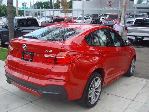 bmw  x4  rojo  2015