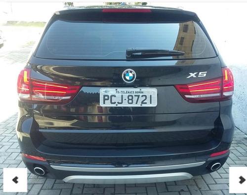 bmw x5 3.0 4x4 30d i6 turbo diesel - 2015  único dono