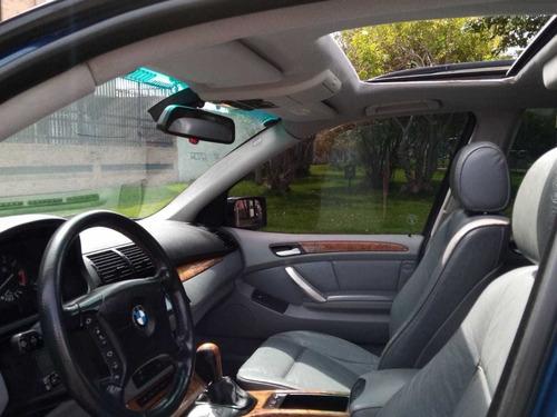 bmw x5 aut,4x4,techo cuero 4.4c.c.motor 8v,