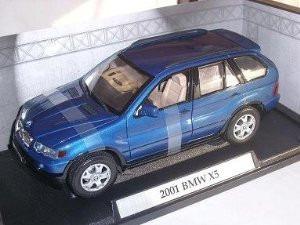 bmw x5  coleccion 1 18 motormax 24cm en caja