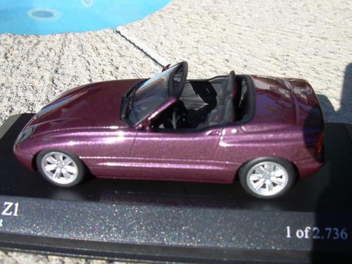 bmw z1 1987  de minichamps 1:43   hm4