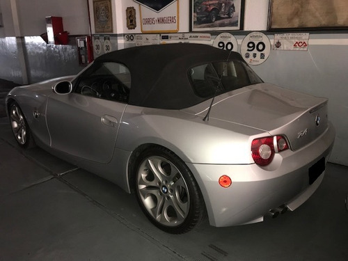bmw z4 3.0l  6 cilindros 2006 gris plata