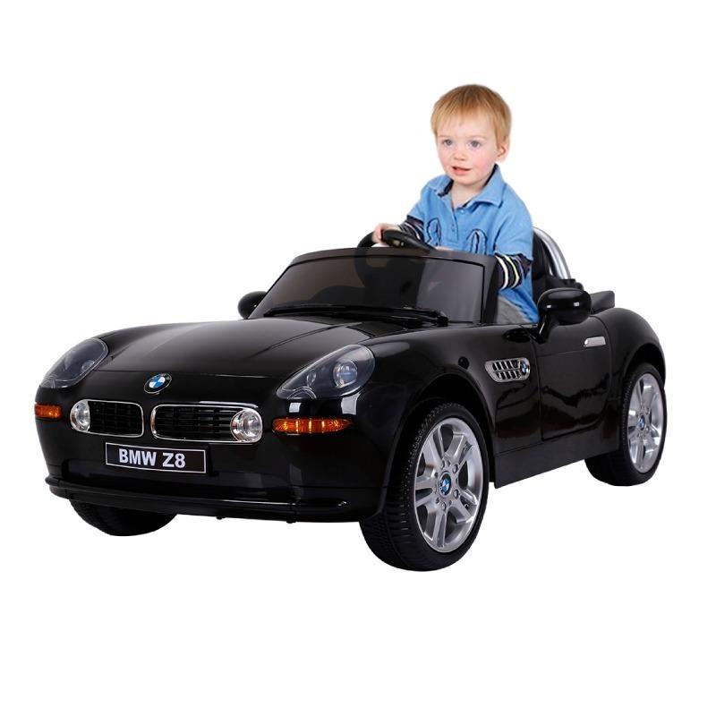 Bmw Z8 Auto A Bateria 12v Para Ninos Color Negro Mp3 15 900 00