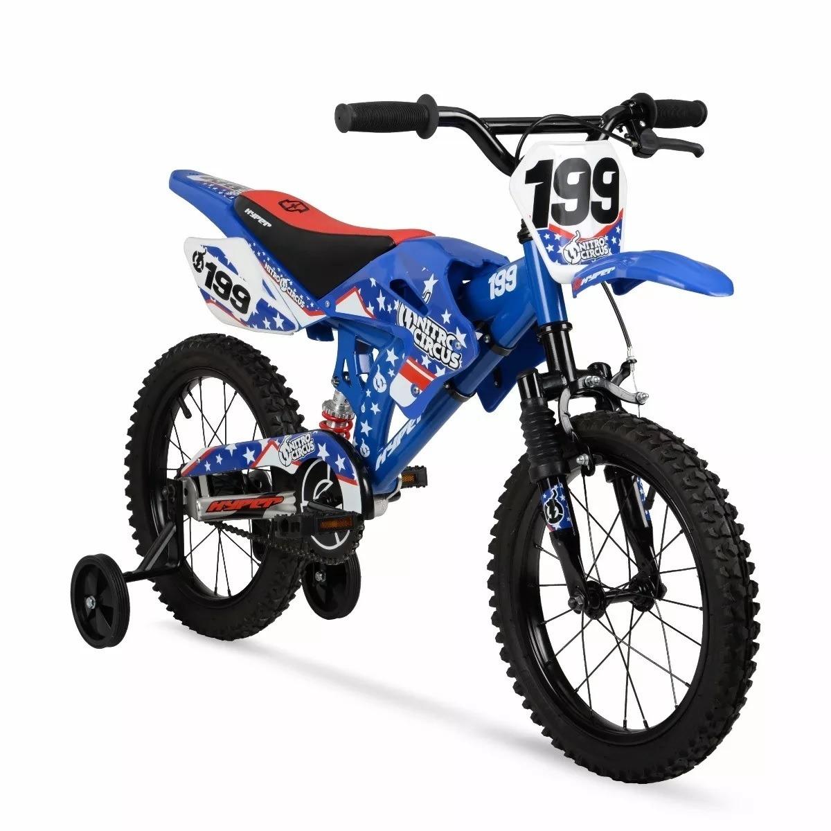 d8b70b2361e Bicicleta Yamaha Bmx Rin 16 Para Niños 4 A 8 Años Azul - $ 3,183.00 ...