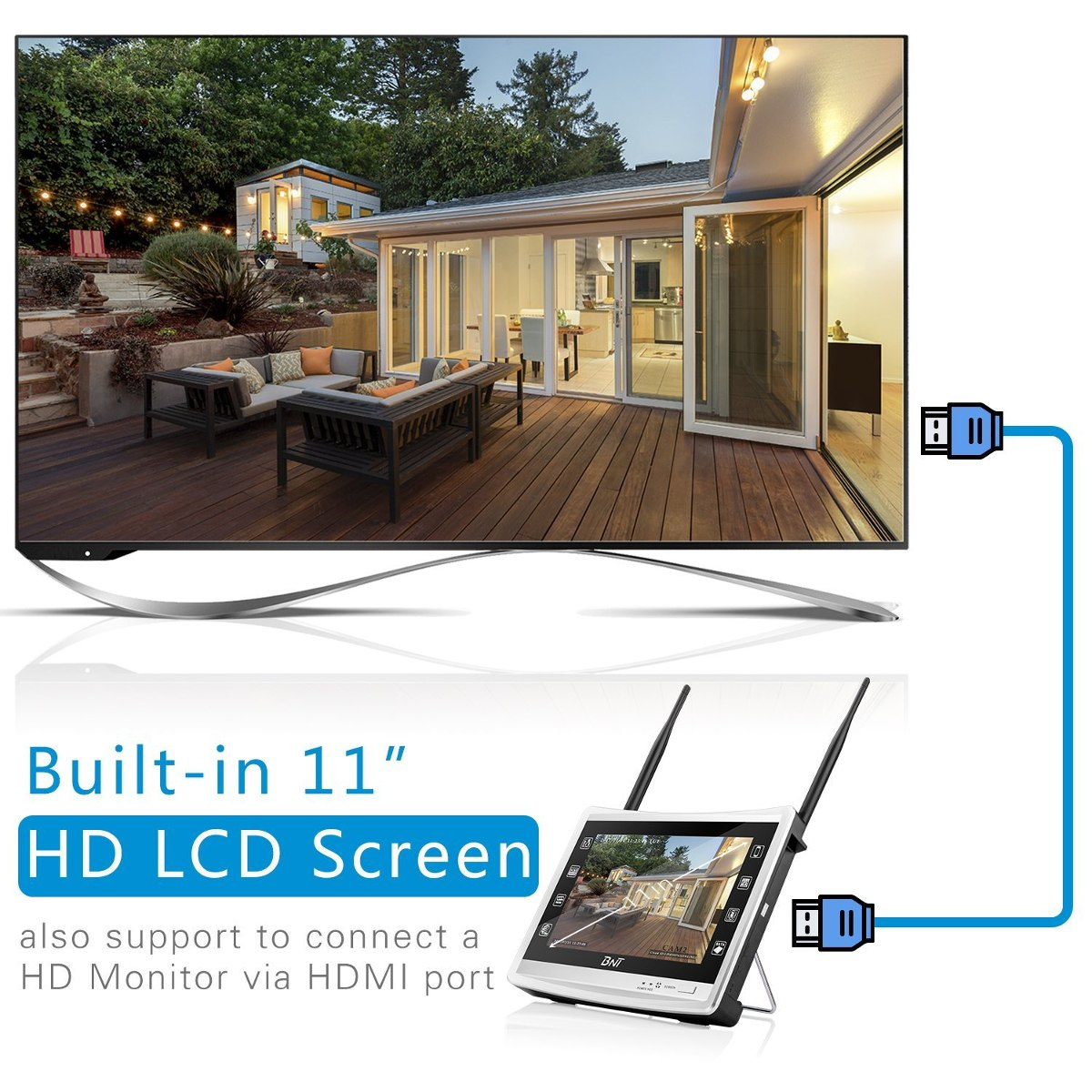 c2e87e7f349 ¿bnt¿wireless security system 4channel all-in one wifi nvr w. Cargando zoom.